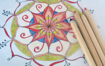 100 Days of mandalas – Day 1