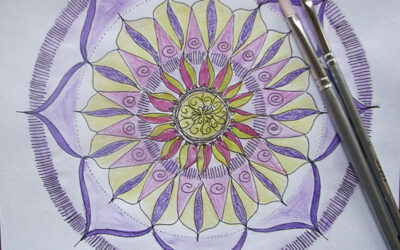 100 Days of mandalas – Day 2