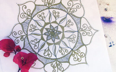 100 Days of mandalas – Day 3