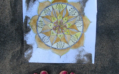 100 Days of mandalas – Day 6