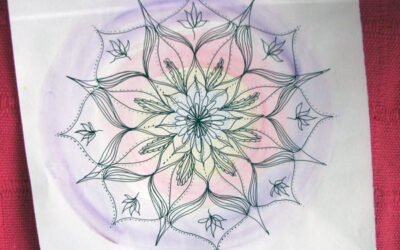100 Days of mandalas – Day 8