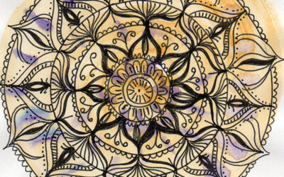 100 Days of Mandalas – Days 30-39