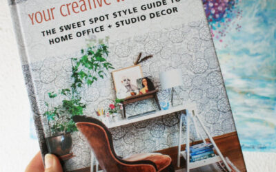 Published! My Studio Featured in 'Your Creative Work Space' by Desha Peacock