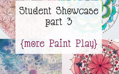 Mandala Class Student Showcase March 2015 Class part 3 {more Paint Play}