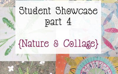 Mandala Class Student Showcase March 2015 Class part 4 {Collage & Nature}