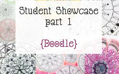 Mandala Art Class Student Showcase Oct 2014 Class part 1 {mandala doodles}