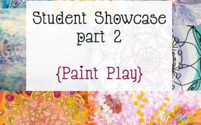 Mandala Class Student Showcase Oct 2014 Class part 2 {Paint Play}