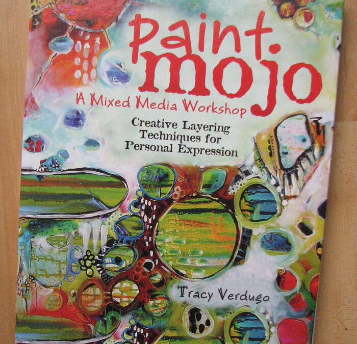 Published! in Tracy Verdugo's Paint Mojo book