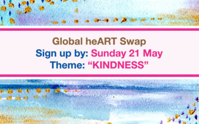 Free Online Creative Retreat coming! Plus join the Global Art Swap