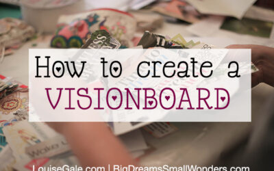 How to Create a Visionboard 2018