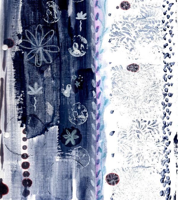 July 2013 creative color challenge wrap up {indigo}