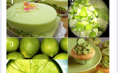 Color Story: Lime color palette