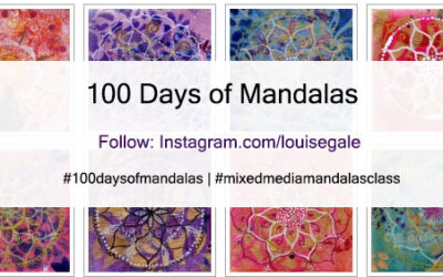 100 Days of Mandalas – starts today!