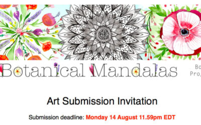 Art Submission Invitation: Botanical Mandalas Book