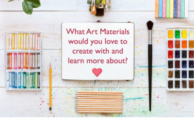 Which Art Materials Would You Love To Learn More About? (Survey & $10 coupon Inside)